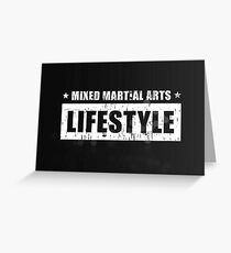 MMA Lifestyle Brand - Block Greeting Card