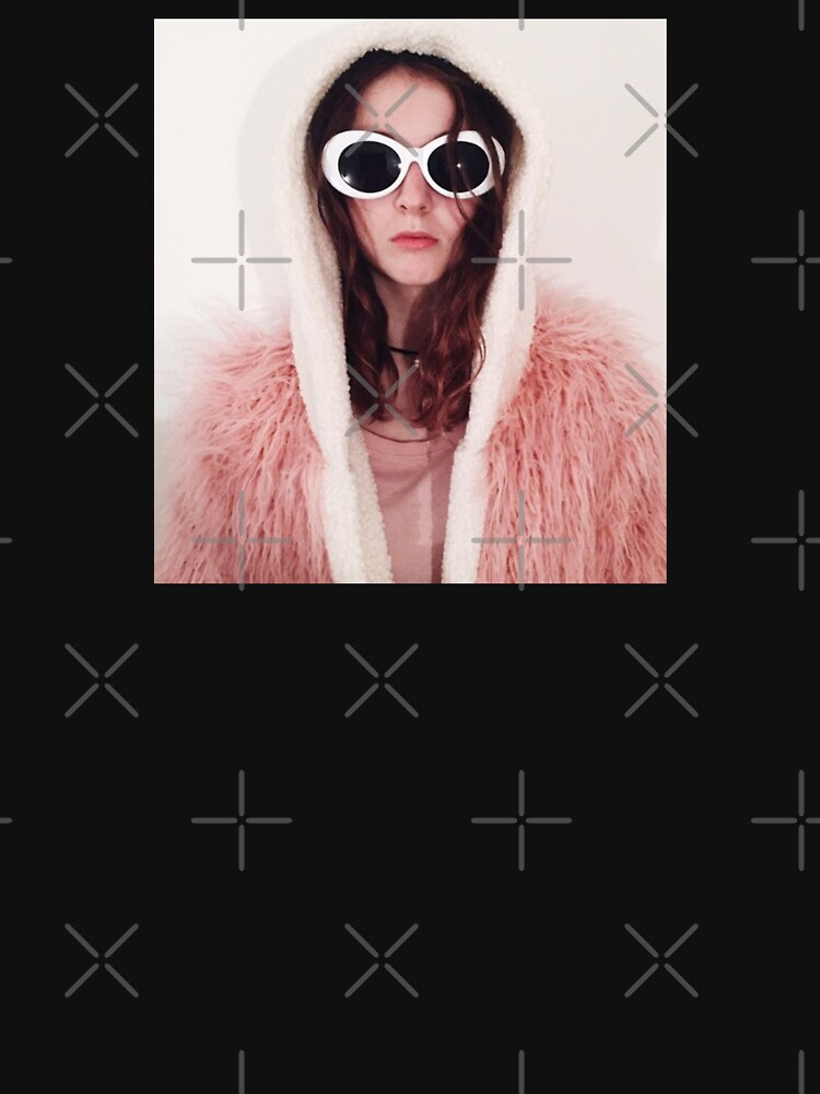 Girl with Cobain Sunglasses by IsaacPierpont