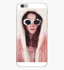 Girl with Cobain Sunglasses iPhone Case