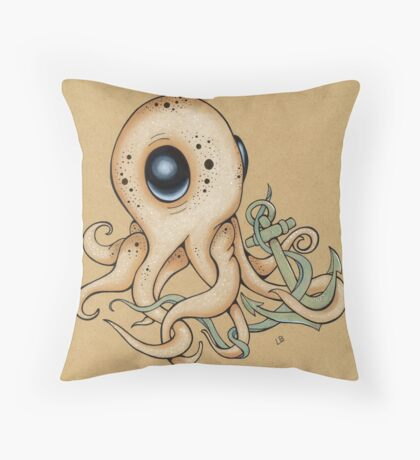 Anchor Me Throw Pillow