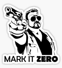 Mark It Zero Sticker