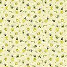 Ananas und Avocado-Muster von christymcnutt
