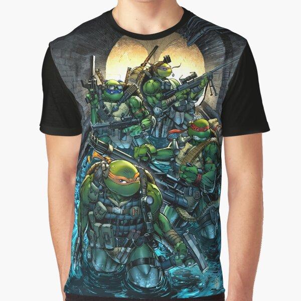 Teenage Mutant Ninja Turtles - Navy Seals Graphic T-Shirt