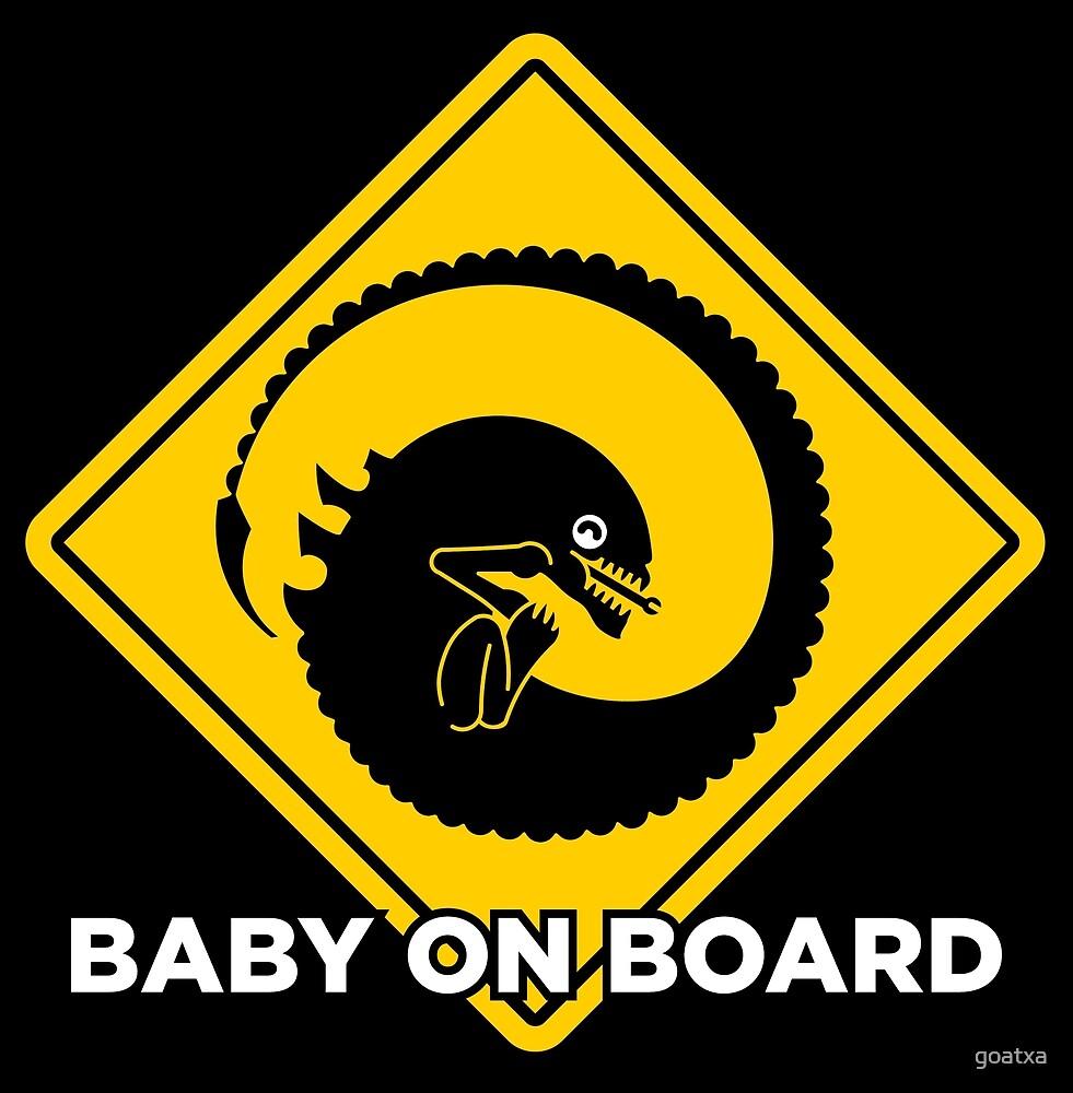 Baby on board - xenomorph