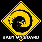 Baby on board - xenomorph by goatxa