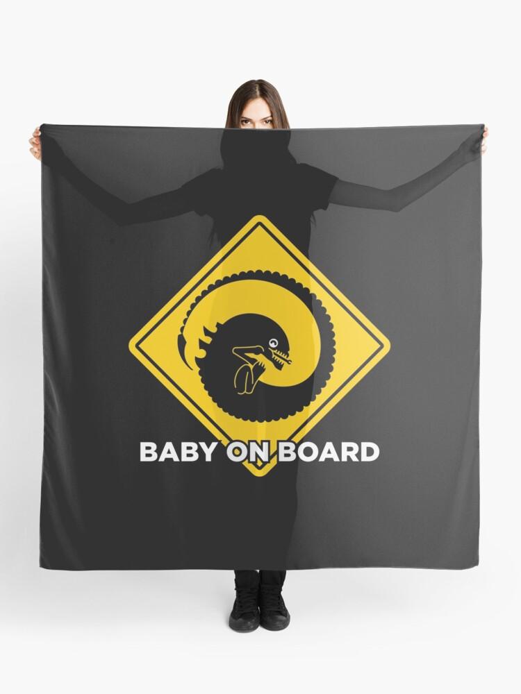Baby on board - xenomorph   Scarf