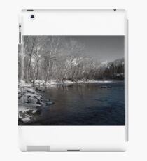 Winter On Neshaminy Creek iPad Case/Skin