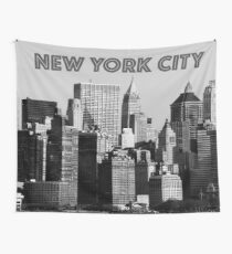 NEW YORK CITY LOWER MANHATTAN SKYLINE - PRO PHOTO Wall Tapestry