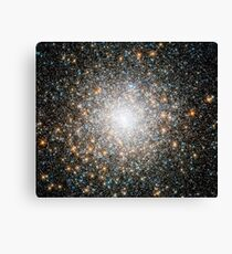 Globular Star cluster Messier 15 Canvas Print