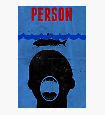 Person Photographic Print