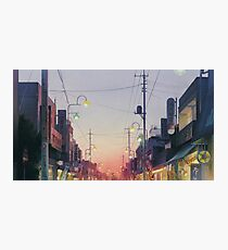 Studio Ghibli Anime Landscape Japan Photographic Print