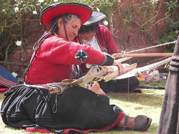 Peruvian weaving by katylynn44