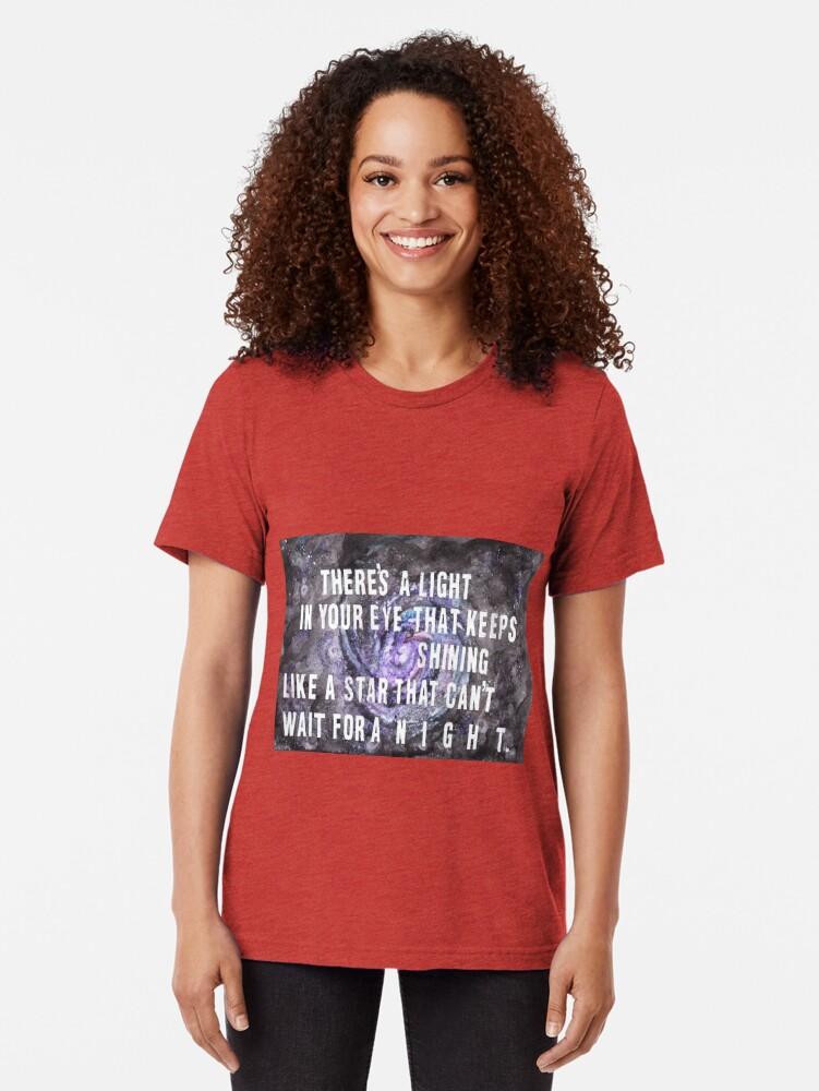 Alternative Ansicht von FOOL IM REGEN Vintage T-Shirt