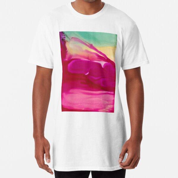 Abstract Print - Ice Cream  Long T-Shirt