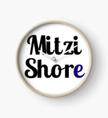 Mitzi Shore Clock