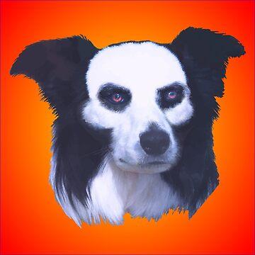 Skull Dog by lonebannana
