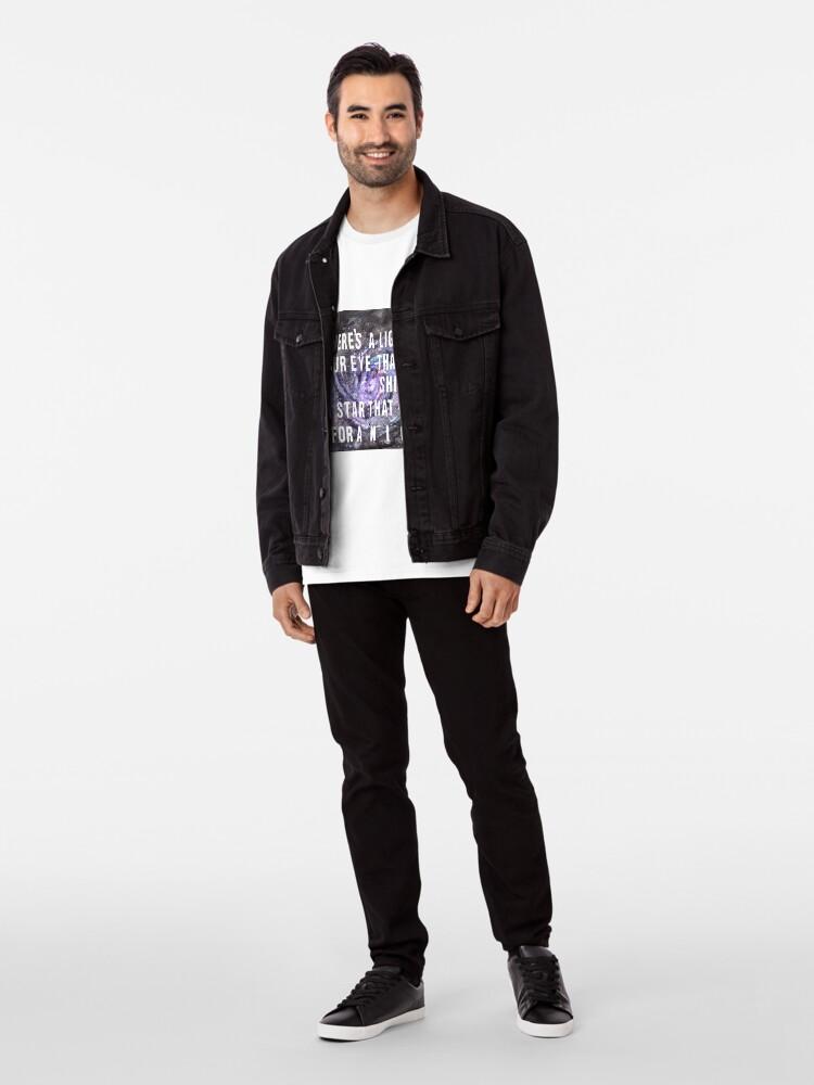 Alternative Ansicht von FOOL IM REGEN Premium T-Shirt