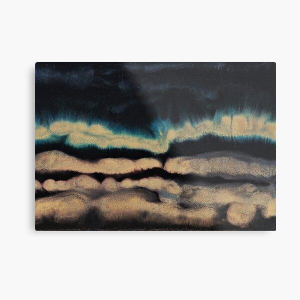 Abstract Print - Landscape  Metal Print