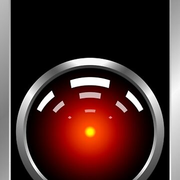 2001: A Space Odyssey -- HAL 9000 by Xcess