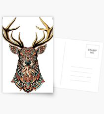 Ornate Buck Postcards