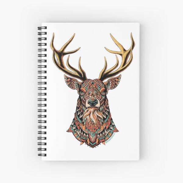 Ornate Buck Spiral Notebook