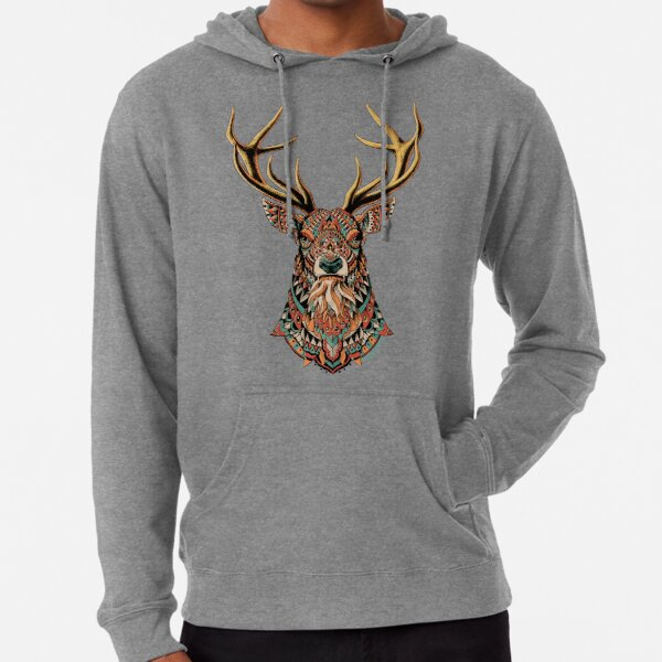 Ornate Buck Lightweight Hoodie