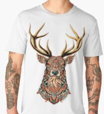 Ornate Buck Men's Premium T-Shirt