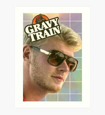 Gravy Train Art Print