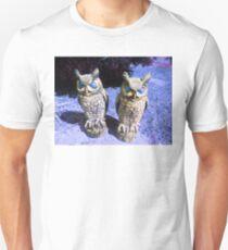 owl friends blue 04/06/17 Slim Fit T-Shirt