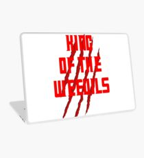 King of The Weevils (Red Words) - Torchwood Laptop Skin
