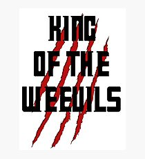King of The Weevils - Torchwood Photographic Print
