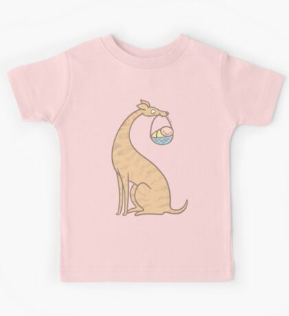 New Baby with Greyhound Puppy Dog Kids Clothes