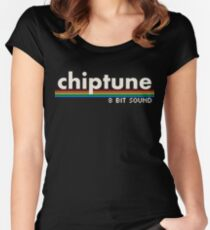 Chiptune Women's Fitted Scoop T-Shirt