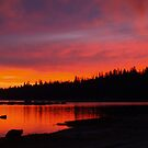Sunset at Wench Creek by the57man