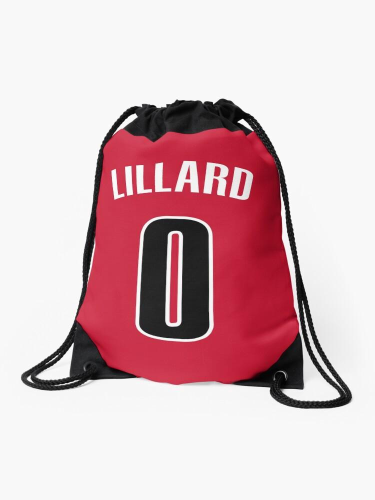 Damian Lillard Jersey Bag Drawstring Bag By Csmall96 Redbubble