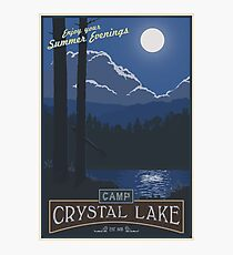 Horrible Summer Camp Photographic Print