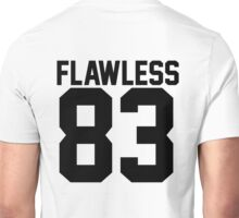 Flawless '83 Jersey (available in all t-shirt types, phone cases and stickers!) Unisex T-Shirt