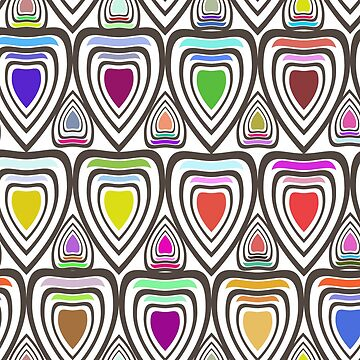 bright and fabulous pattern for people who love non-ordinary things by Angry-Owl