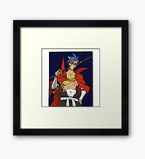 Fight the Power! Framed Print