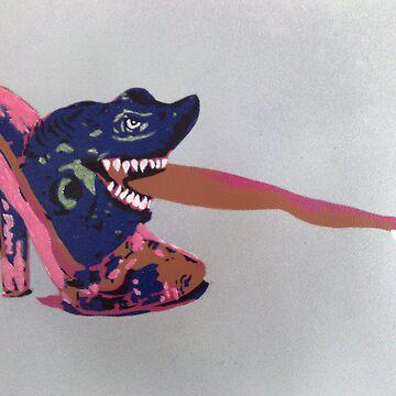 shoe shark by JeddaSelke