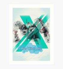I Play with Dolls - Xenoblade Chronicles X Art Print