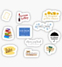 Gilmore Girls Starter pack Sticker Set Sticker