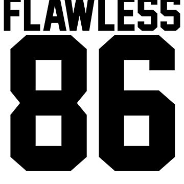 Flawless '86 Jersey (available in all t-shirt types, phone cases and stickers!) by jezzhands