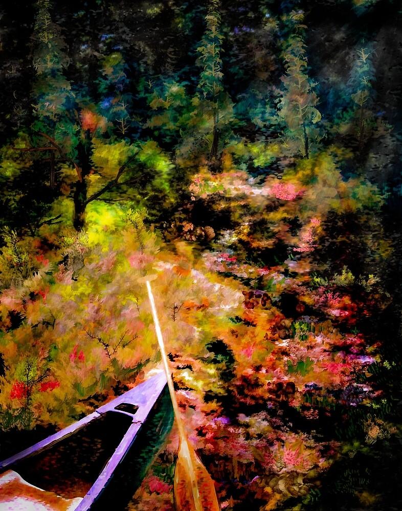 Portage Trail by Wib Dawson