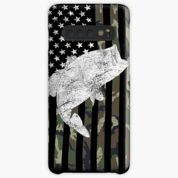 Camouflage Flag Bass Fishing Angler Samsung Galaxy Snap Case
