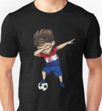Abtupfenden Fußball Boy Kroatien Jersey Fußball Slim Fit T-Shirt