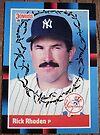 079 - Rick Rhoden by Foob's Baseball Cards