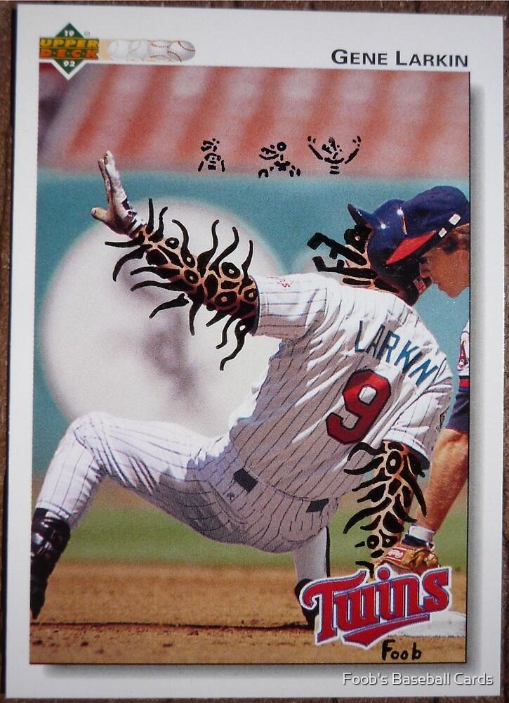 082 - Gene Larkin by Foob's Baseball Cards
