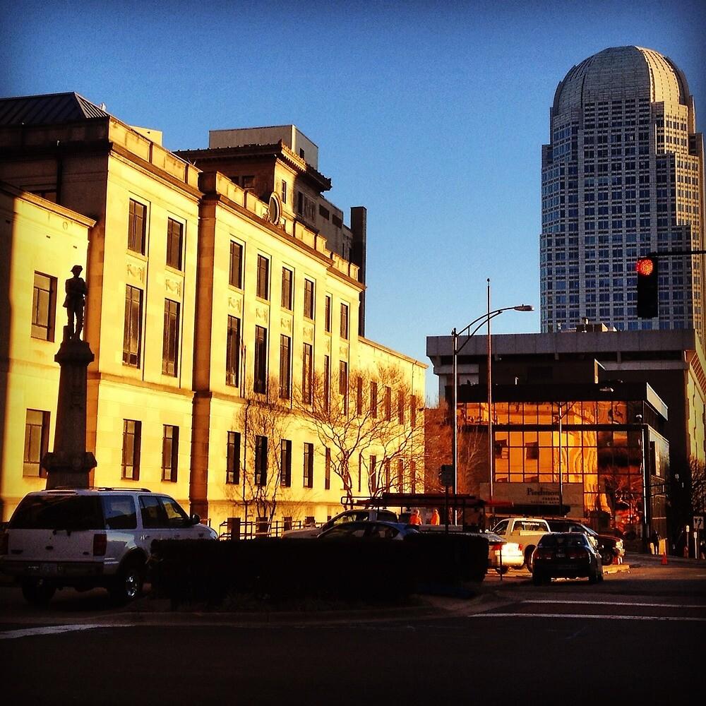 Downtown Winston-Salem by Joe Dominguez