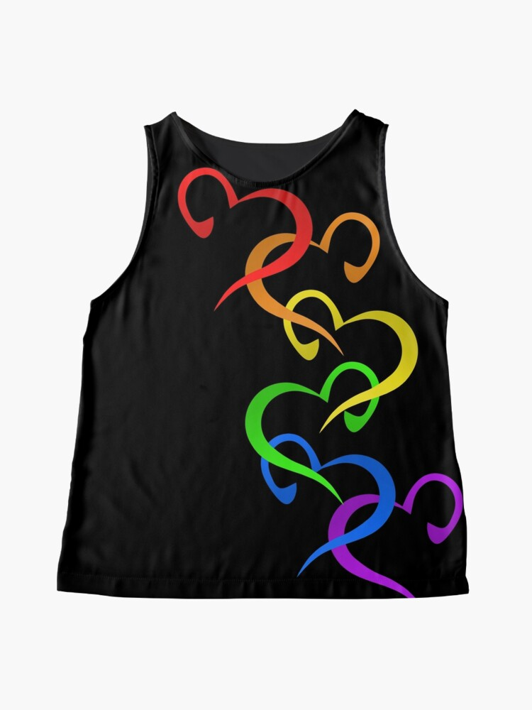 Alternate view of Hearts of PRIDE Sleeveless Top